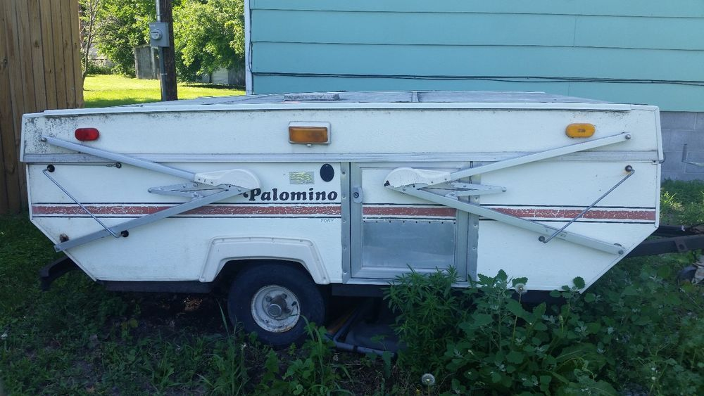 1984 Palomino Pony Pop Up Camper In Ebay Motors Parts
