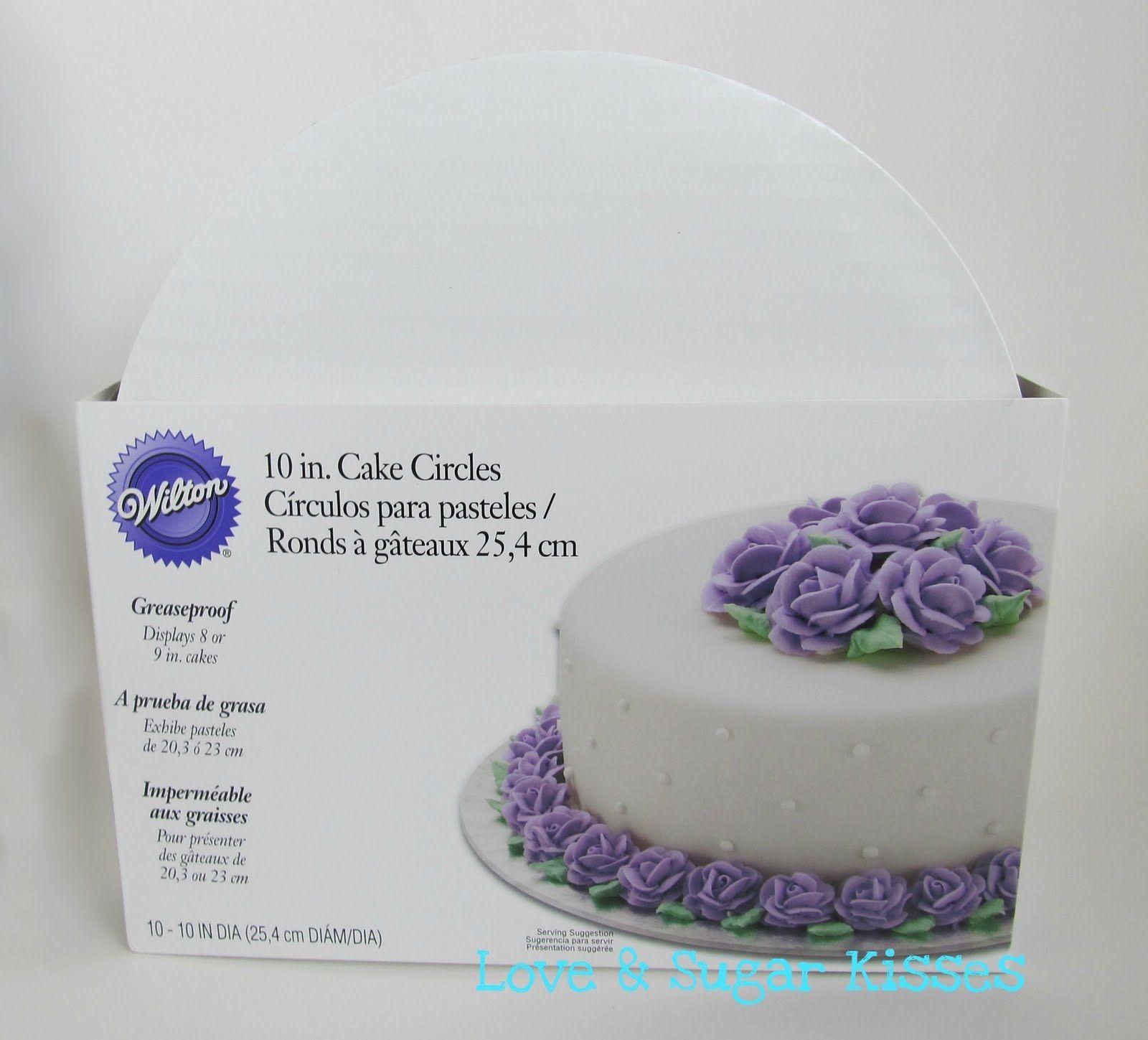 Love & Sugar Kisses: {DIY} Cake Board