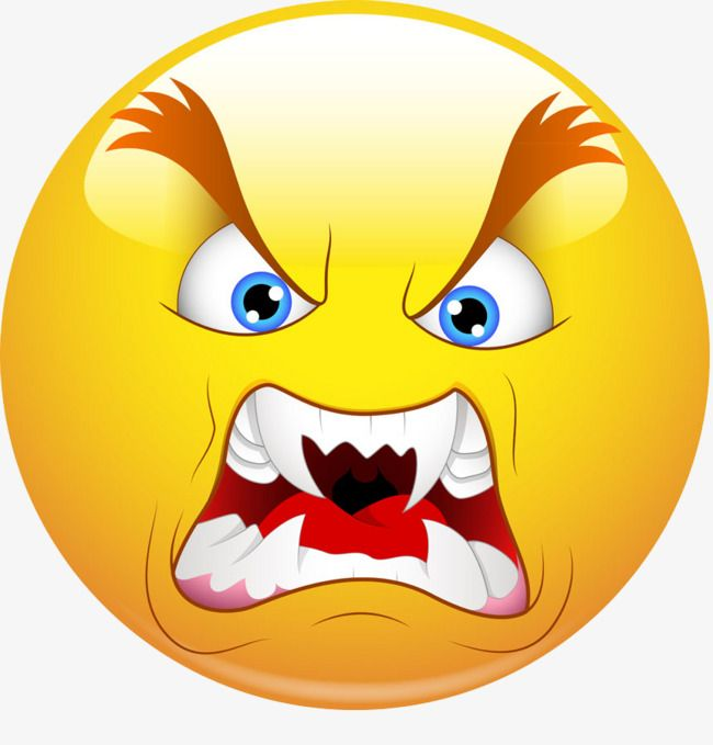 Angry Face Angry Face Yellow Png Transparent Clipart Image And Psd File For Free Download Emoji Pictures Animated Emoticons Emoji Images