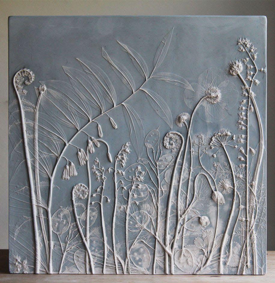 artificial-plaster-cast-flower-fossils-rachel-dein-18