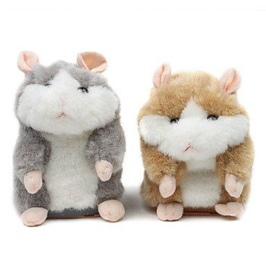 Bst Pet Toys Mimicry Pet Talking Hamster Toy For Dog Assorted