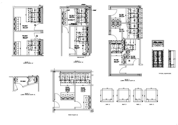 Toilet cubicle dimensions toilet cubicle dimensions chef for Cubicle floor plan