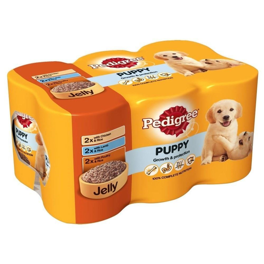 Pedigree Puppy Can Selection In Jelly 6x400g For More