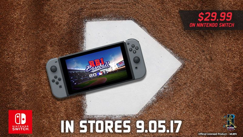 Baseball 17 Coming to Nintendo Switch