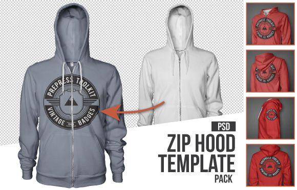 Mens Zip up hoodie mockup template psd   Best Of Men's Apparel ...