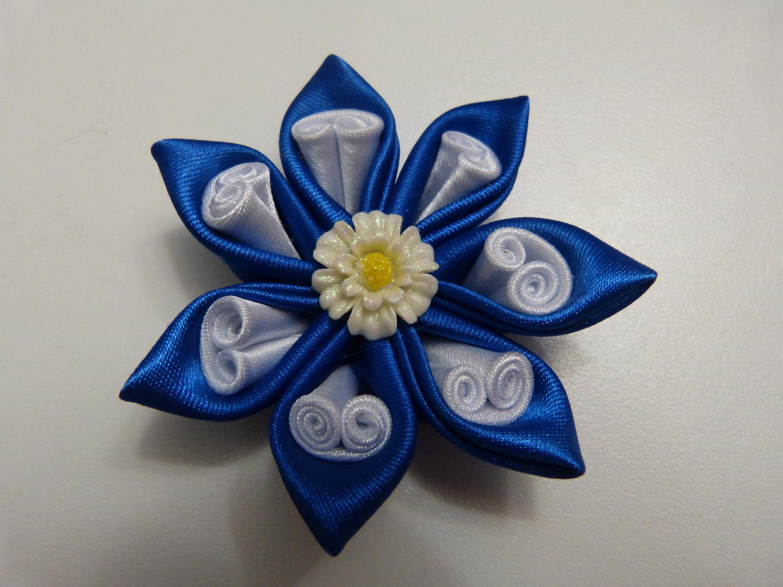 Tutorial mo os y flores lazos en cinta para el cabello - Lazos con cintas ...