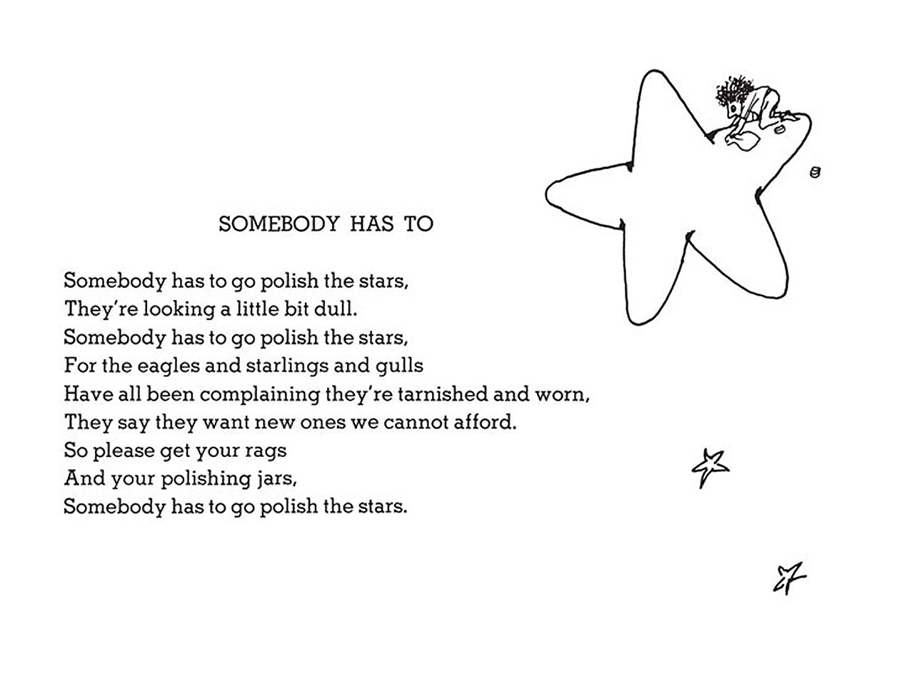 Funny Poems By Shel Silverstein: Strange Bedfellows: Come Out Of Your Shel