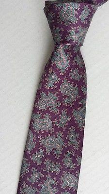 Egon Von Furstenberg men neck dress #tie NEW without tags  paisley pattern visit our ebay store at  http://stores.ebay.com/esquirestore