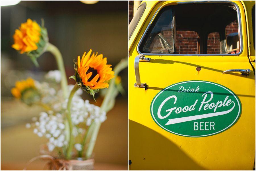 Sam & Spencer // A Good People Brewery Wedding Brewery