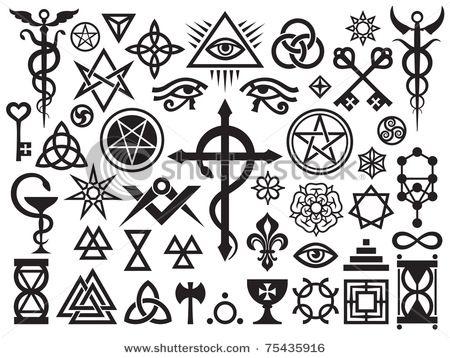 Occult Imagery Ancient Symbols Occult Symbols Magic Symbols