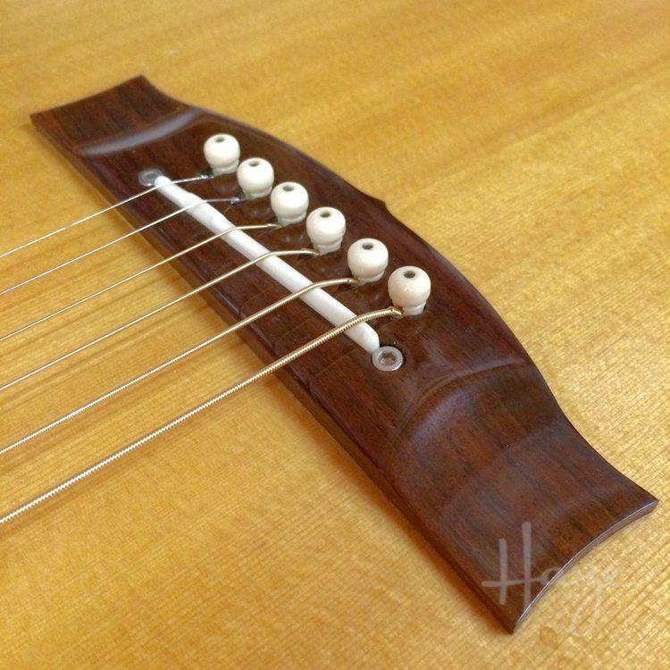 Shaving An Acoustic Guitar Bridge Haze Guitars Acoustic Acoustic Guitar Guitar