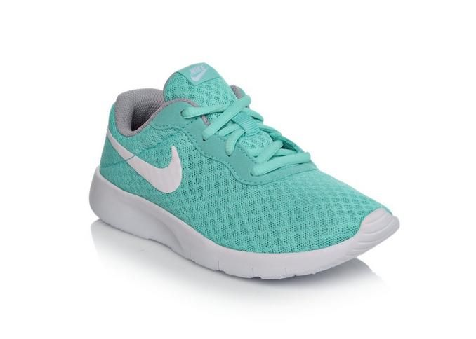 Girls' Nike Tanjun 10.5-3 Girls HypTrq/Wht/Gy | Shoe Carnival