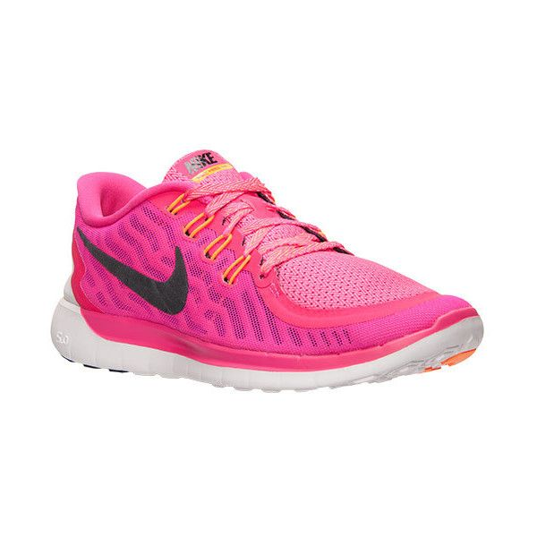new concept 36f54 79fd4 ... Womens Nike Free 5.0 Running Shoes (100) ❤ liked on Polyvore featuring  shoes, ...