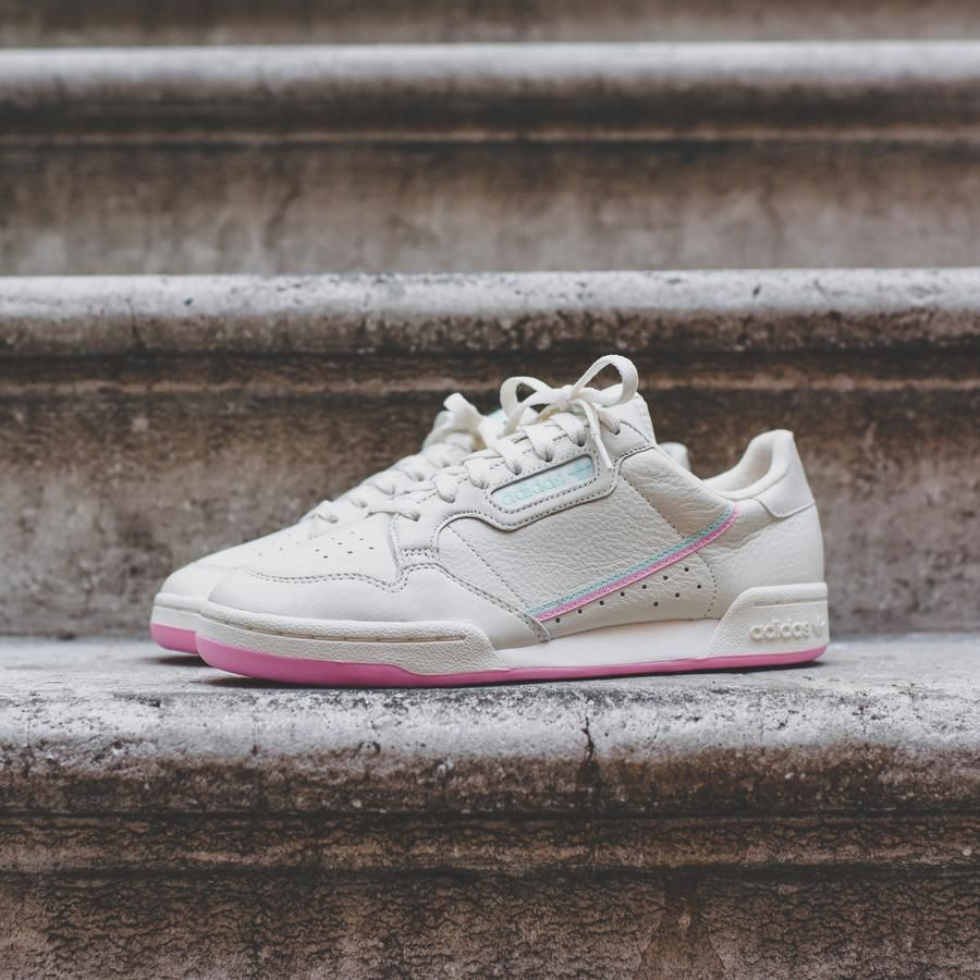 Continental 80 Shoes Off White Raw White Gum Bd7975 Minimalist Shoes Leather Shoes Woman Adidas Fashion