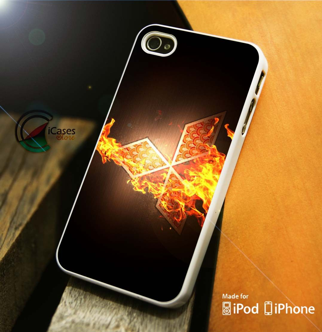 Mitsubishi Logo Flame iPhone 4 5 5c 6 Plus Case, Samsung