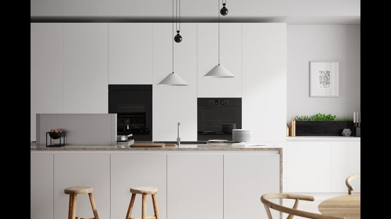 Elegant Minimalist Kitchen Design Ideas kitchen Pinterest