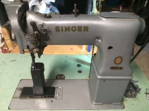 Singer 40 G 40 Post Walking Foot Leather And Shoe Industrial Simple Singer Walking Foot Industrial Sewing Machine