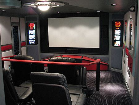 Such A Great Idea Star Trek Movie Theater Room Home Theater