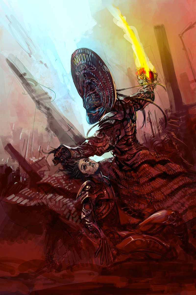 Artist Re-Imagines Scenes From The Mahabharata As A Techno