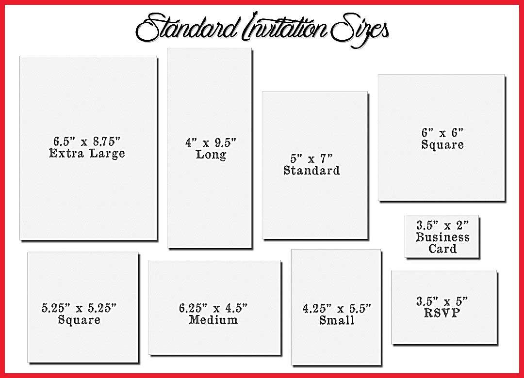 Wedding Invitation Square Sizes Card Template Size 5 Of For