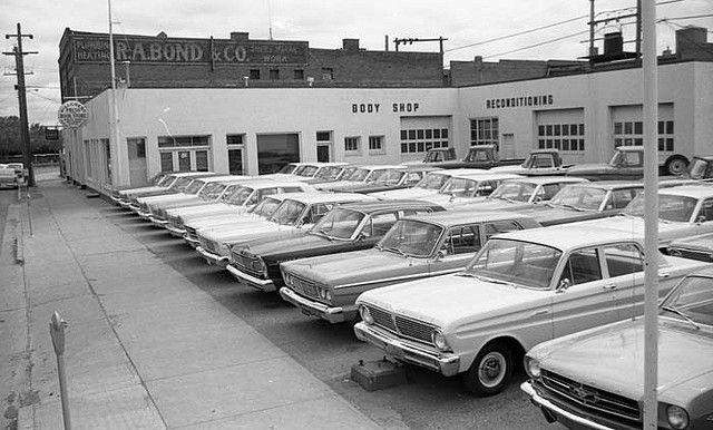 1965 Ford Dealer Find The Mustang Car Dealership Car