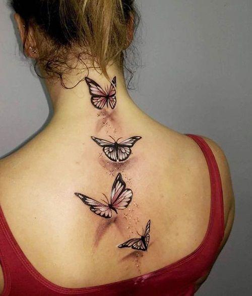 80 Originales Tatuajes De Mariposas Y Su Significado Tatuu