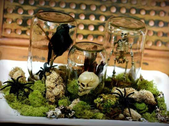 diy halloween decorations 19 easy inexpensive ideas - Easy Homemade Halloween Decorations