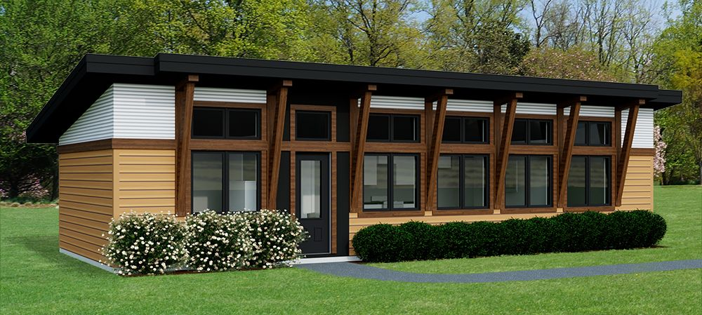 Contemporary Caribou 704 Robinson Plans Diy House Plans Structural Insulated Panels House Plans