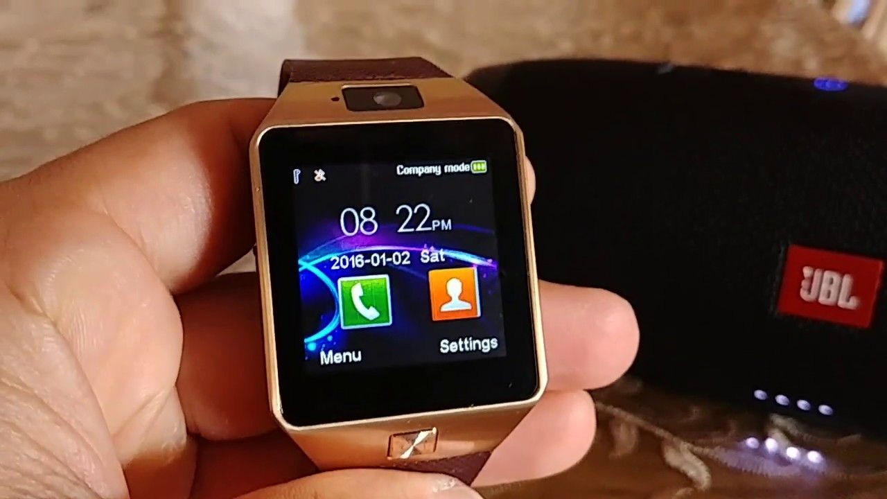How to pair JBL Charge 3 to DZ09 smart watch and play music