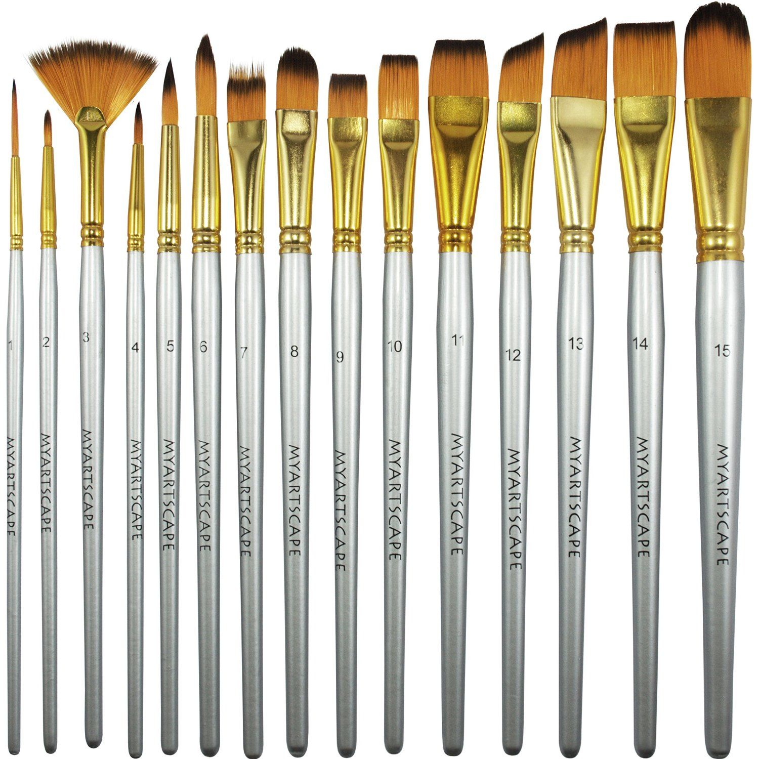 The 5 Best Acrylic Paint Brushes Best brushes, Oil