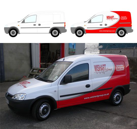 Van Wrap Template Bing Images
