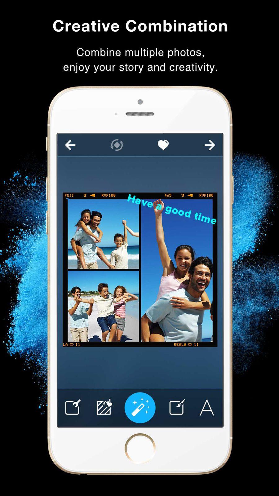Framatic Collage Editor ampPhotoiosVideo iphone