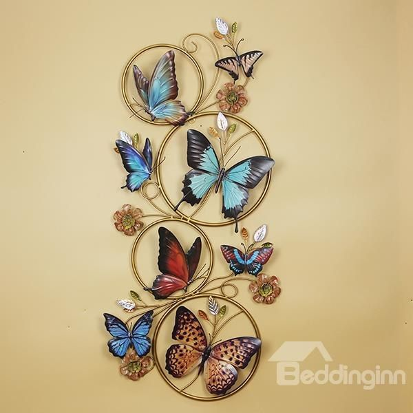 Gorgeous Decorative Butterfly Iron Works Wall Art | Butterfly, Iron ...
