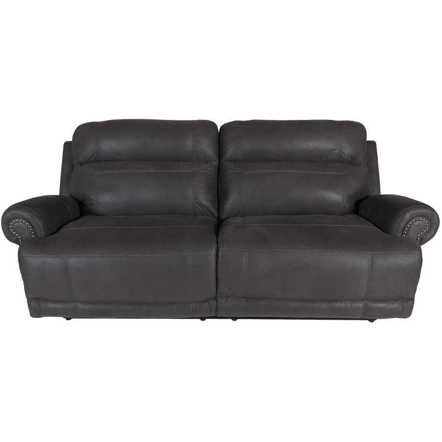 Austere Grey Power Reclining Sofa J1 384prs Grey