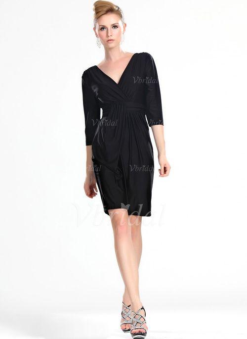 Kleider für die Brautmutter - $137.59 - Etui-Linie V-Ausschnitt ...
