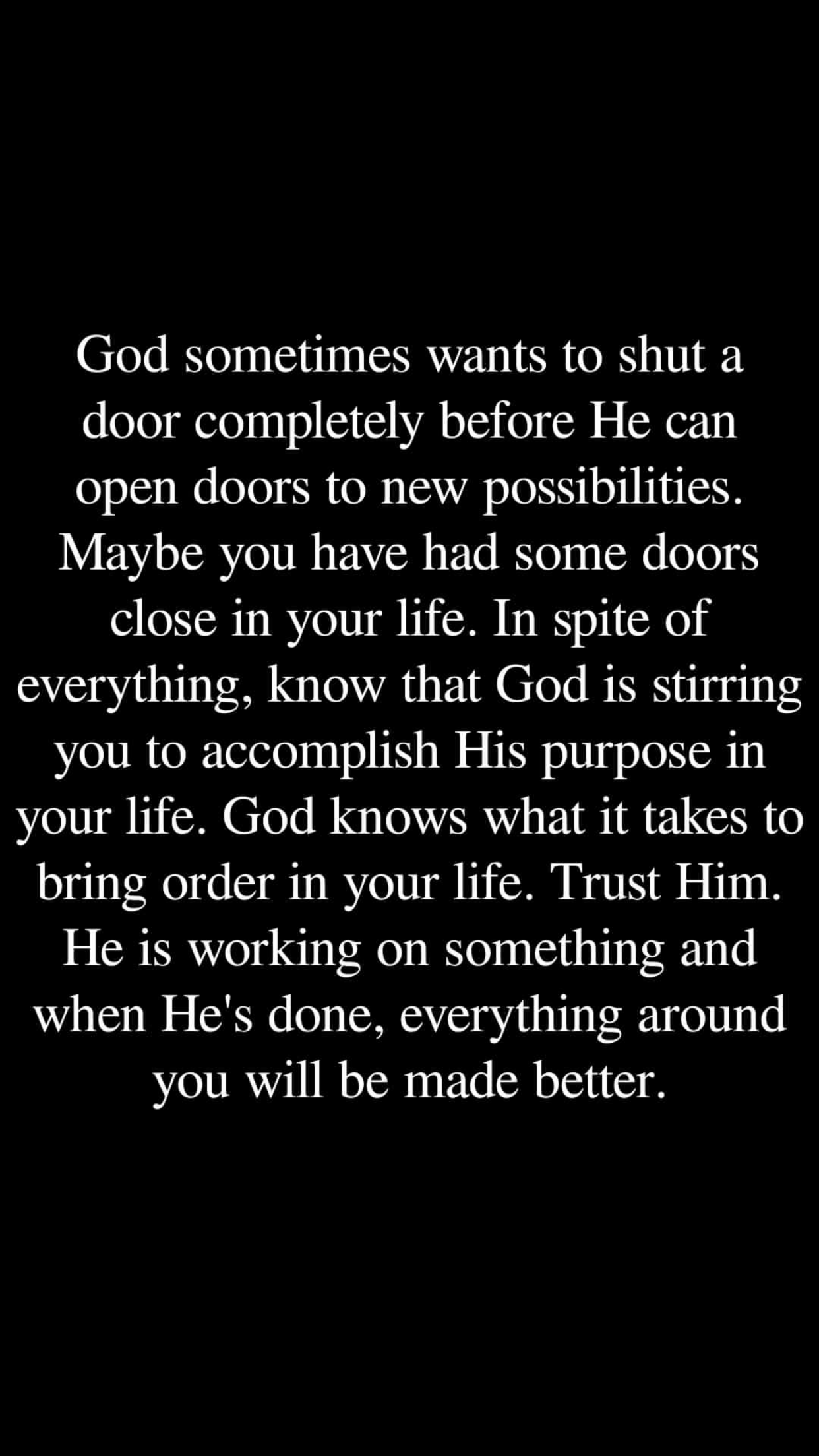 Absolutely God Has A Devine Plan For Us Just Him N I Quotes