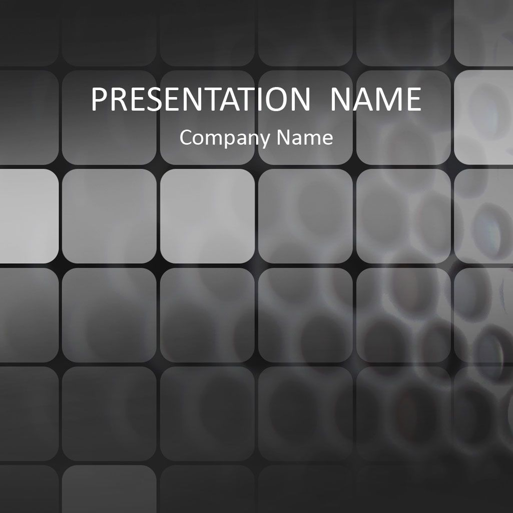 black grid powerpoint template abstract powerpoint templates abstract powerpoint template a nice black grid background and subtle technology squares this theme is suitable for presentations on various topics and