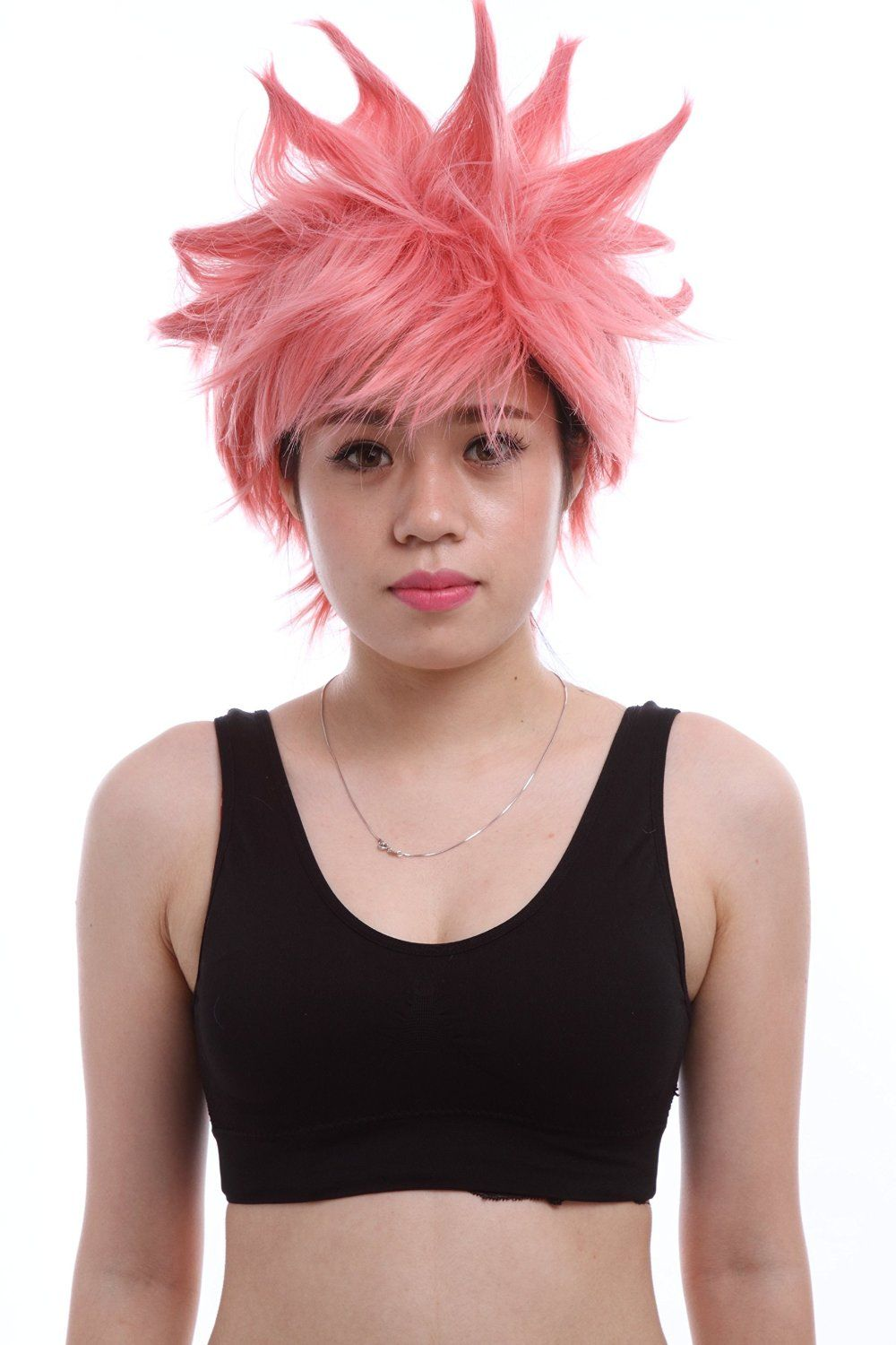 25cm /9.84inch Fairy Tail Natsu Dragneel Short Toupee Men Costumes Paty Cosplay…