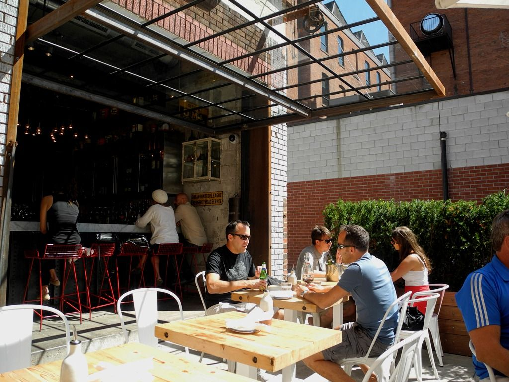 """Entertainment District's trendy new eatery """"Gusto"""" on"""