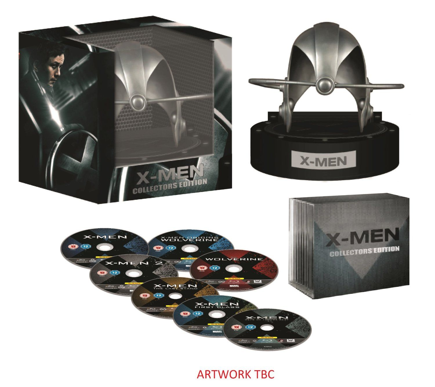 X Men Cerebro Helmet Complete Collection Incl Days Of Future Past Exclusive To Amazon Co Uk Blu Ray Amazon Co U Blu Ray Collection Boxset Tv Series To Watch