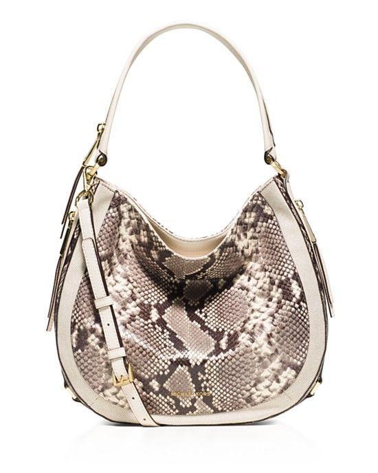 090a628cdec0 Michael Kors Medium Julia Convertible Satchel Shoulder Bag Crossbody Snake  Print #MichaelKors #ShoulderBag