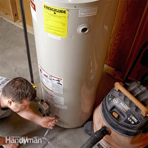 How To Flush A Water Heater Water Heater Maintenance Water