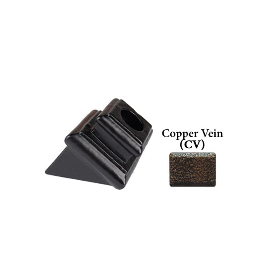 Best Shop House Of Forgings Round Copper Vein Cast Iron Baluster Shoe At Lowes Com Iron Balusters 640 x 480