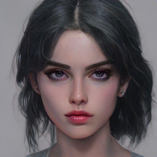 my war on Twitter in 2021   Digital art girl, Portrait