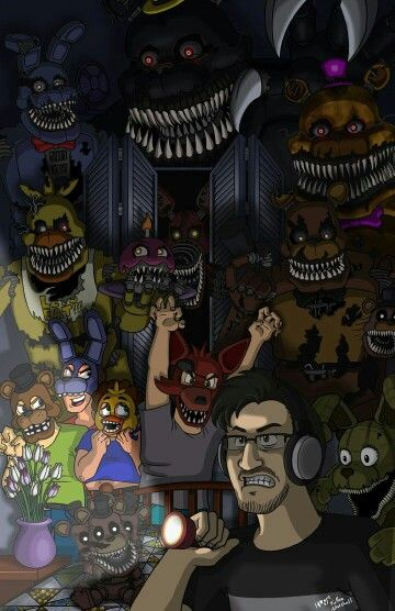 Five Nights At Freddy S Animatronics Characters Foxy Chica