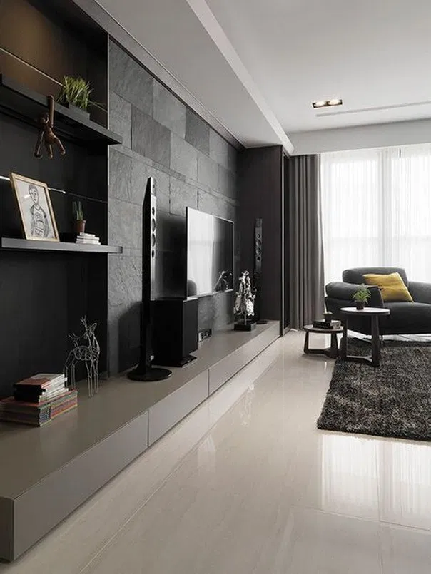 Design Your Room Virtual: 9 Tv Wall Design Ideas To Create Perfect View Of Your
