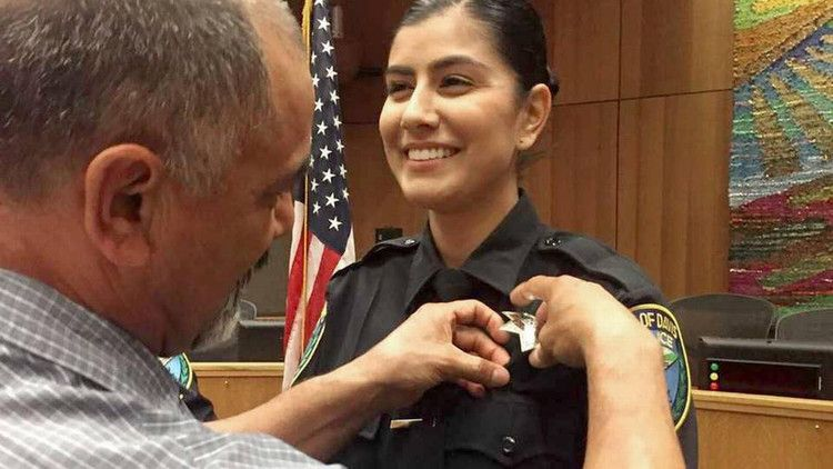 Davis police Officer Natalie Corona, 22, was gunned down