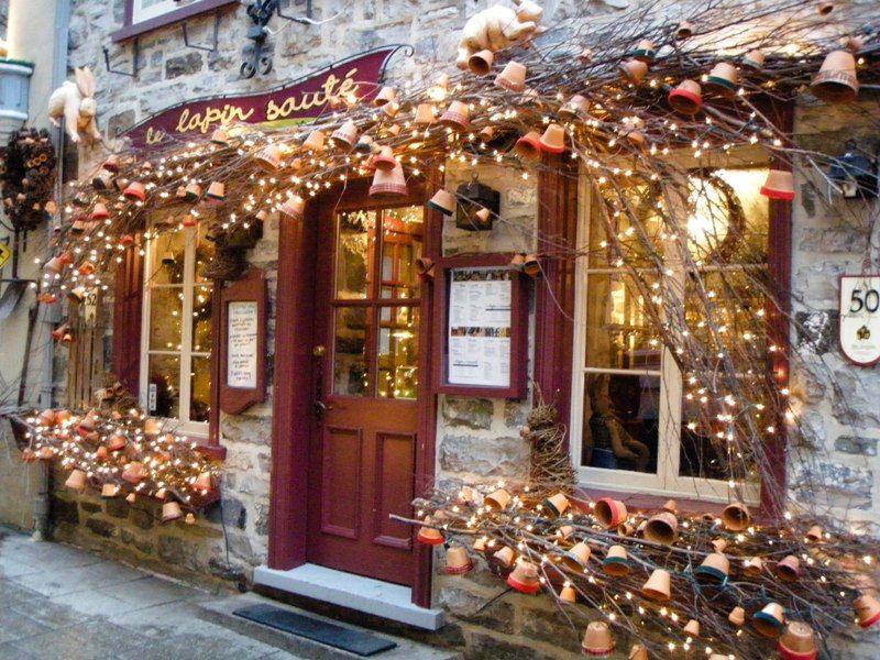 A Dream Spending Christmas In Quebec City Fun Christmas Decorations Cozy Christmas Country Christmas