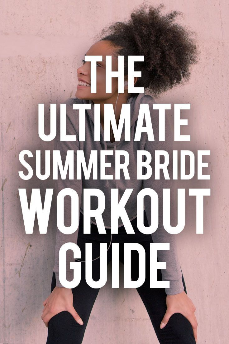 Find out how to get in shape for your summer wedding on SHEfinds.com. #wedding #summerwedding #bride...