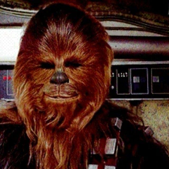 Listos para el finde???? Seguidnos, estamos en todas lass redes!!!! #elarmarioevanescente #chewbacca #starwars #halconmilenario